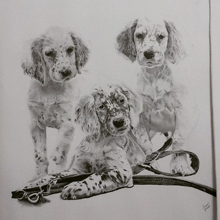 Puppies Laurentgosselin Lartderien Dessin Artist Draw Flickr