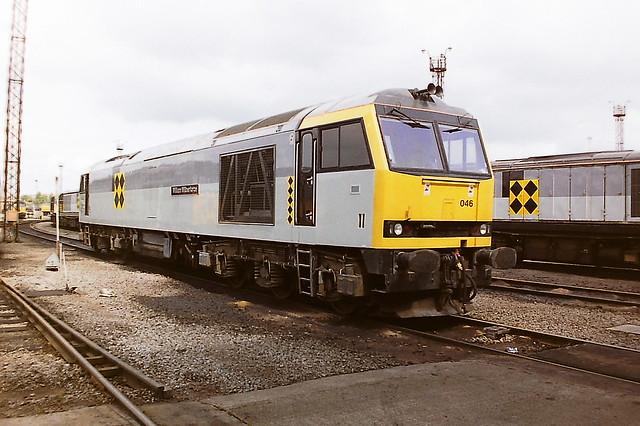 BRITISH RAIL 60046 WILLIAM WILBERFORCE