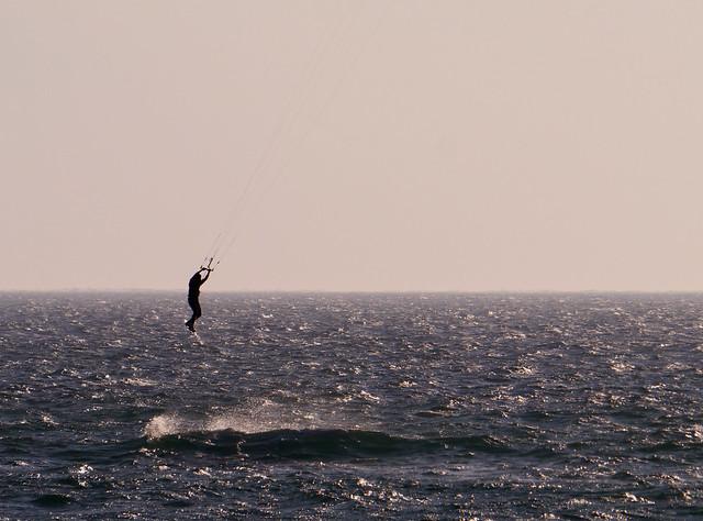 Kite surfer, Anakao