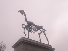 """Gift Horse"" on the Fourth Plinth in Trafalgar Square"