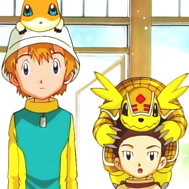 Wallpaper Digimon Tk Takeru Patamon Tomilobito Flickr