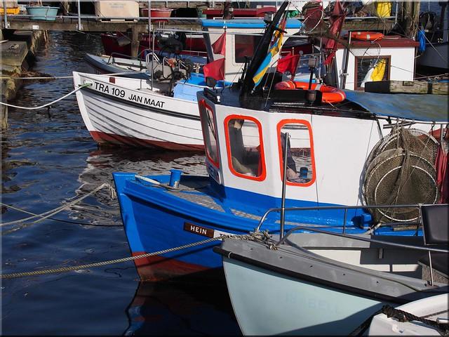Feierabend  im  Fischereihafen