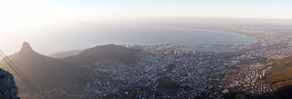 Cape Town from Table Mountain | by Rob Schleiffert