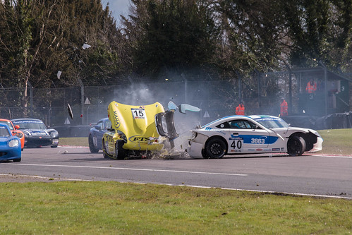 Ginetta Crash | by Jack Holgate