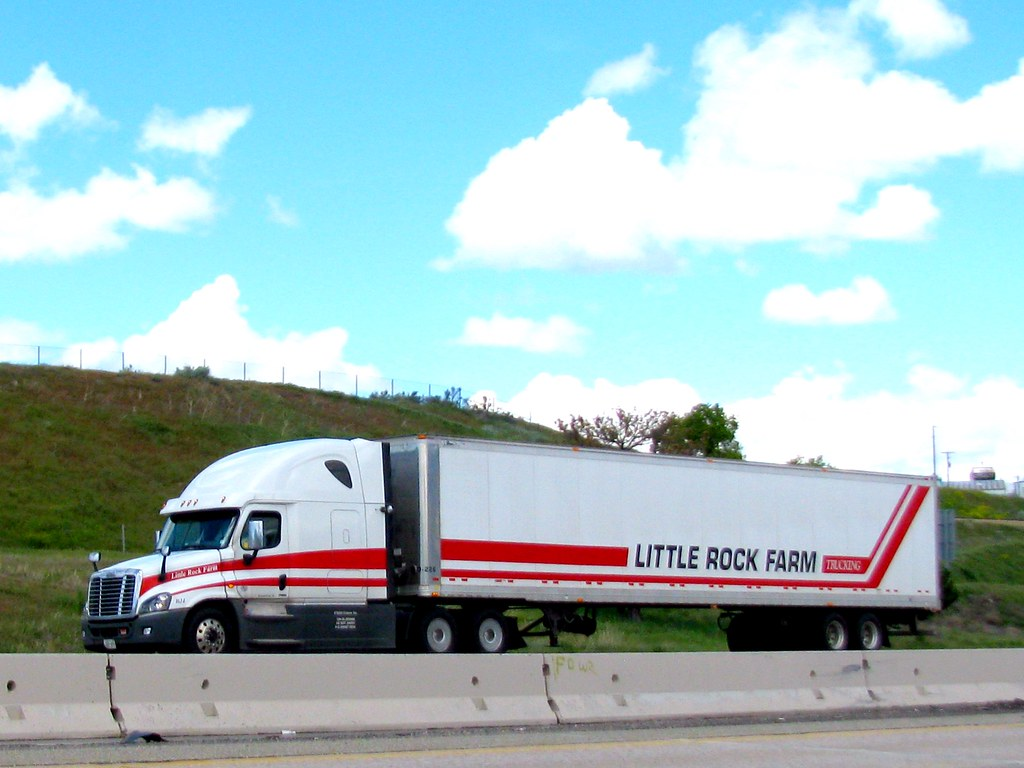 Little Rock Farm Trucking Tnsamiam Flickr