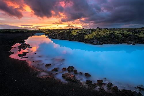 longexposure trip travel blue light sunset sky lake water clouds wow landscape blacksand volcano lava iceland sand nikon peninsula reykjanes bluelagoon blending lavafield grindavík reykjanespeninsula d810 vulcanicsand