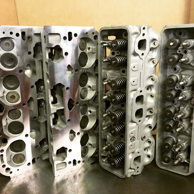 Barnettes Rebuilt cylinder heads