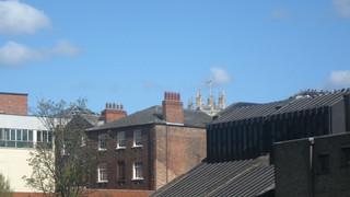 Royal Standard flying above Yorkminster