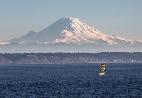 Sailing under Rainier | by Jonathan Miske