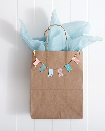 washi gift wrap paper bag | by Berries.com
