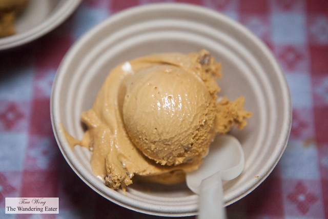 Salted Crack Caramel ice cream by Ample Hills Creamery
