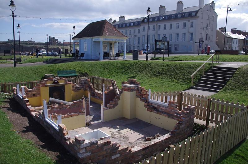 Whitby Bombardment Garden