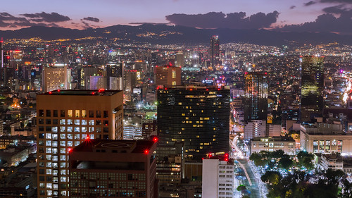city longexposure night buildings landscape mexico lights luces noche edificios nikon df cityscape paisaje nuit notte largaexposicion tamron1750 d3100