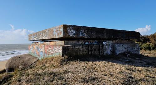 La couarde sur mer, blockhaus seconde guerre mondiale