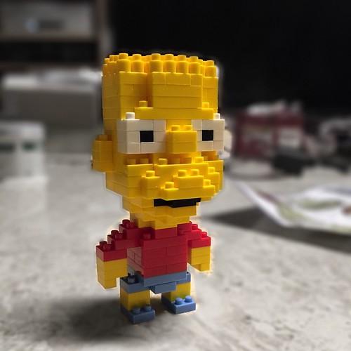 霸子! #bart #simpson #lego