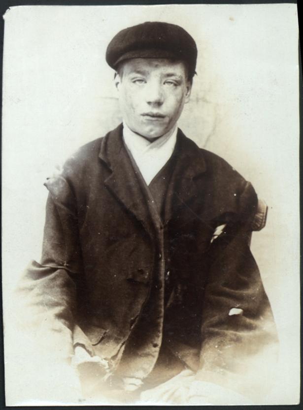 Charles Marr, arrested for stealing a sailor's bag