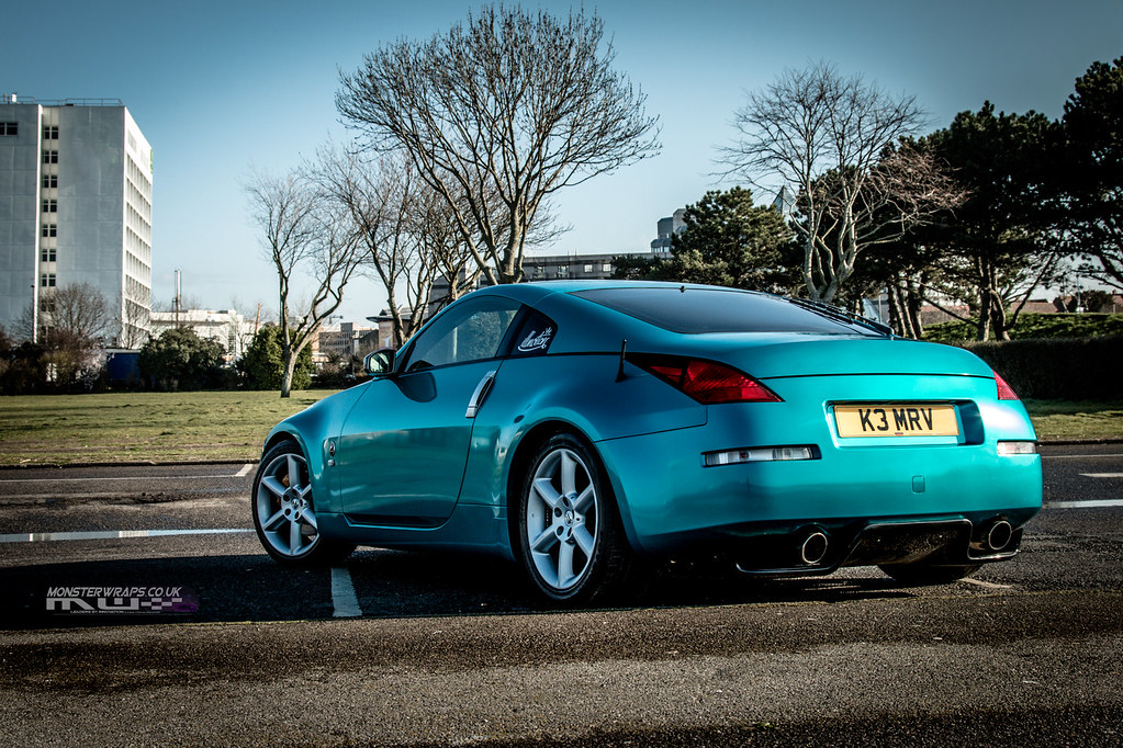 uk availability 00b75 04fb9 ... Nissan 350Z Gloss Atomic Teal wrap   by DUP Automotive