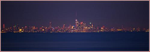 toronto ontario skyline canon lights stoneycreek 6d niagaraescarpment torontoskyline