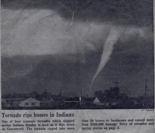 Tornado rips homes in Indiana | by Editor B
