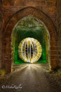 Lightblades in the archway .... | by Mike Ridley.