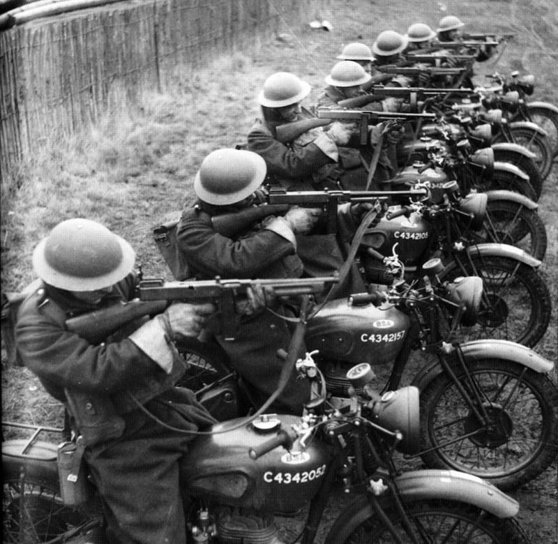 イギリス陸軍バイク