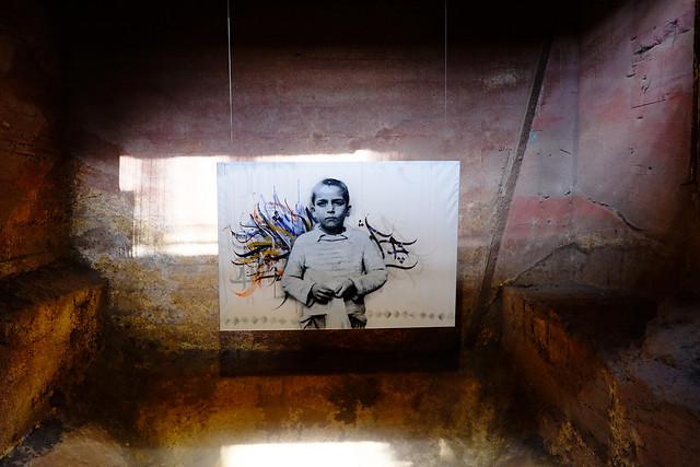 Urban Art! Biennale 2015: A1one, Iran