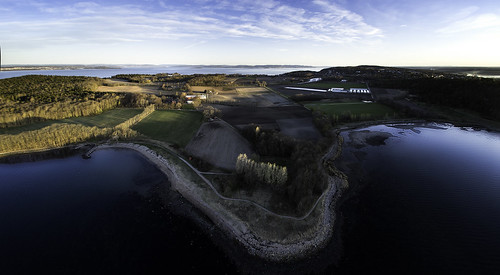 panorama norway landscape moss østfold alby jeløy reier multirotor multicopter reierbukta