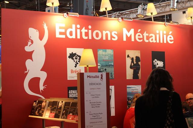Éditions Métailié - Salon du Livre de Paris 2015