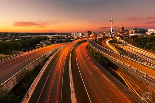 city longexposure newzealand urban tower cars canon cityscape cities trails junction auckland nz spaghetti newton canoneos5dmarkiii bgsphotography bgspix ef1635mmf4lisusm