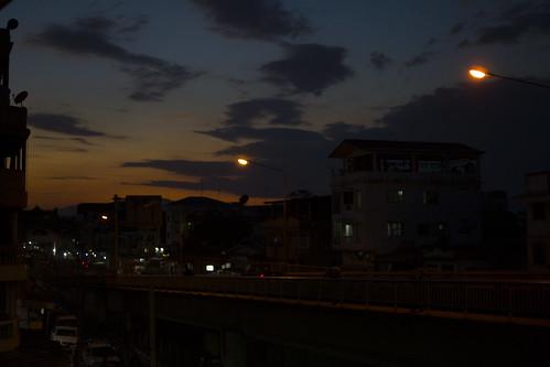 sunset 夕陽 myanmar 夕日 夕焼け myawaddy kayin ミャワディ