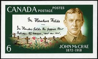 Lieutenant-Colonel John McCrae—6 cent stamp / Le lieutenant colonel John McCrae sur un timbre de six sous | by BiblioArchives / LibraryArchives