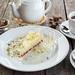 Фисташково-малиновый десерт