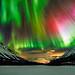 Aurora in Kitdalen by Wayne Pinkston