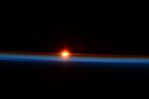 20 March solar eclipse at sunrise