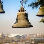 Bells in Metekhi monastery