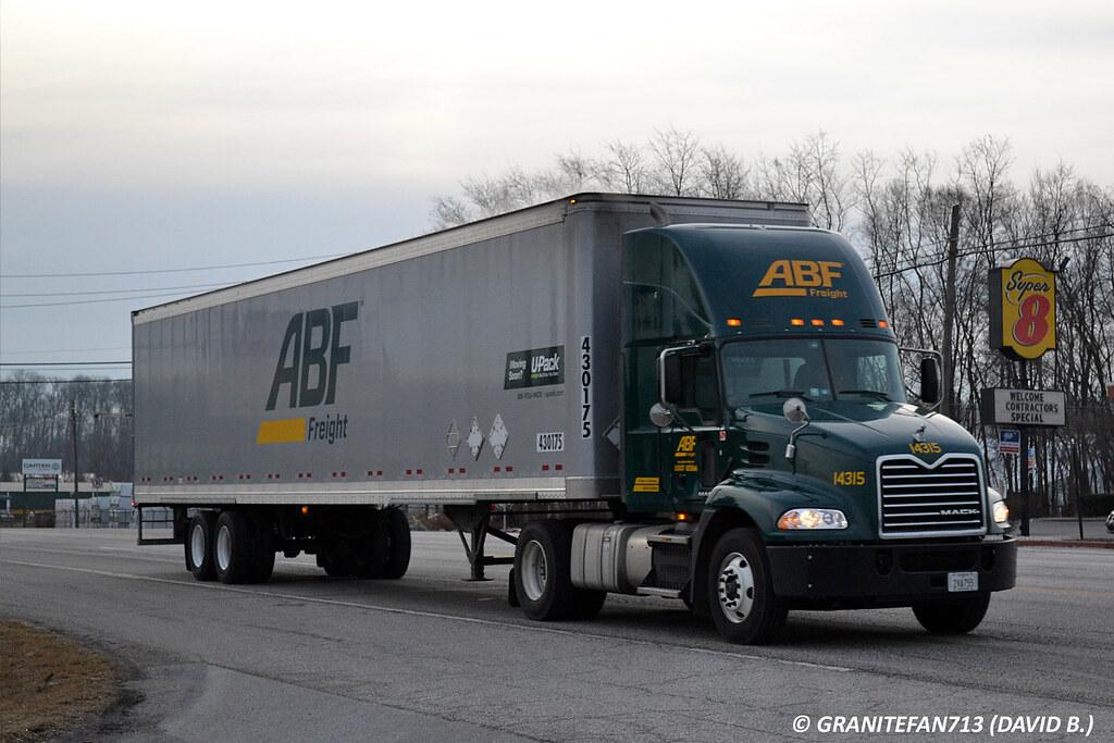 ABF Freight Mack Pinnacle | Trucks, Buses, & Trains by