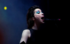 St. Vincent en Lollapalooza Chile 2015