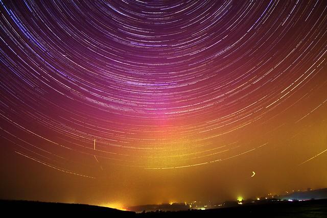 90 Minute Aurora Star Trails 17/03/15