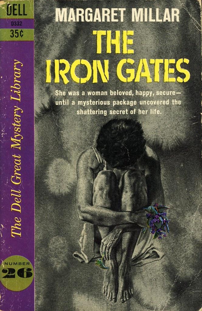 Dell Books D332 - Margaret Millar - The Iron Gates   Flickr