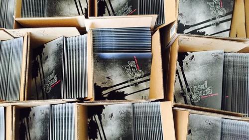 The vinyls have arrived!!! #deadsara #pleasuretomeetyou