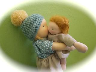 Hugs! | by daskleinekra-puppen.com