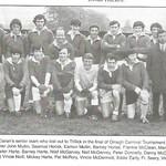 ballygawley st ciarans omagh carnival tournament 1971