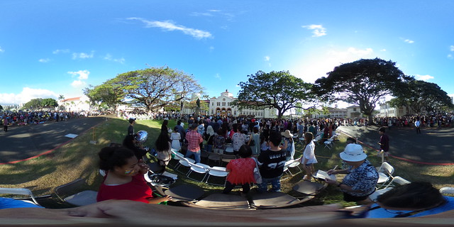 The McKinley High School (Honolulu, Hawaii) Class of 2016 Commencement Exercises - a 360 degree equirectangular VR