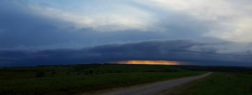 sunset thunderstorm bartlesville pawhuska cloudsstormssunsetssunrises galaxys6