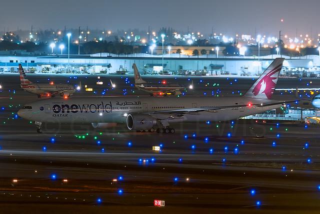 Qatar Airways Boeing 777-300ER A7-BAG [MIA]