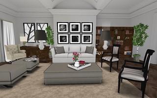 Park Place Home Decor, Ashford LR (full room) | by Hidden Gems in Second Life (Interior Designer)