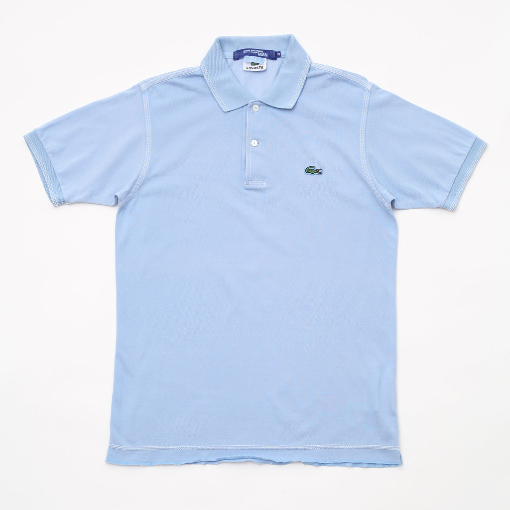 4442d1d5c9 ... JUNYA WATANABE COMME des GARCONS MAN x LACOSTE / customized polo shirt  | by for the