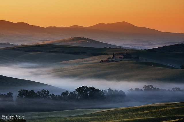 Tuscany morning dream