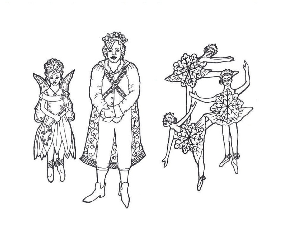 Nutcracker Coloring Pages | Christmas coloring sheets, Kids ... | 793x953