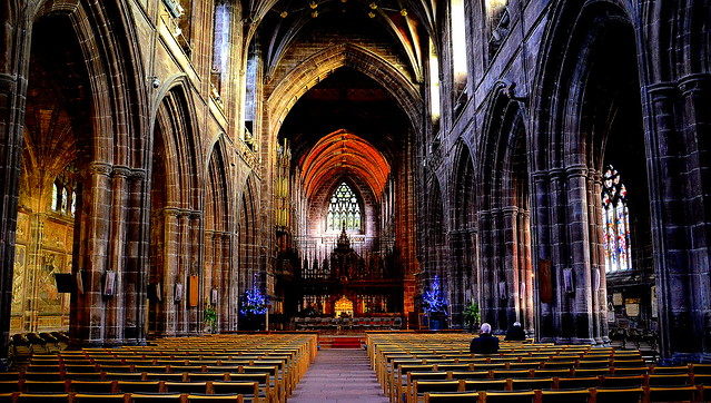 Cathedral......Chester, UK.